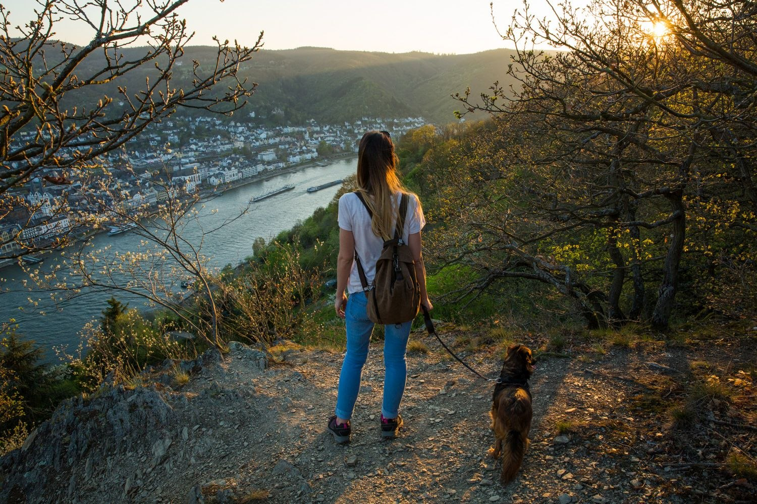 View from Filsener Ley to Boppard | © Henry Tornow