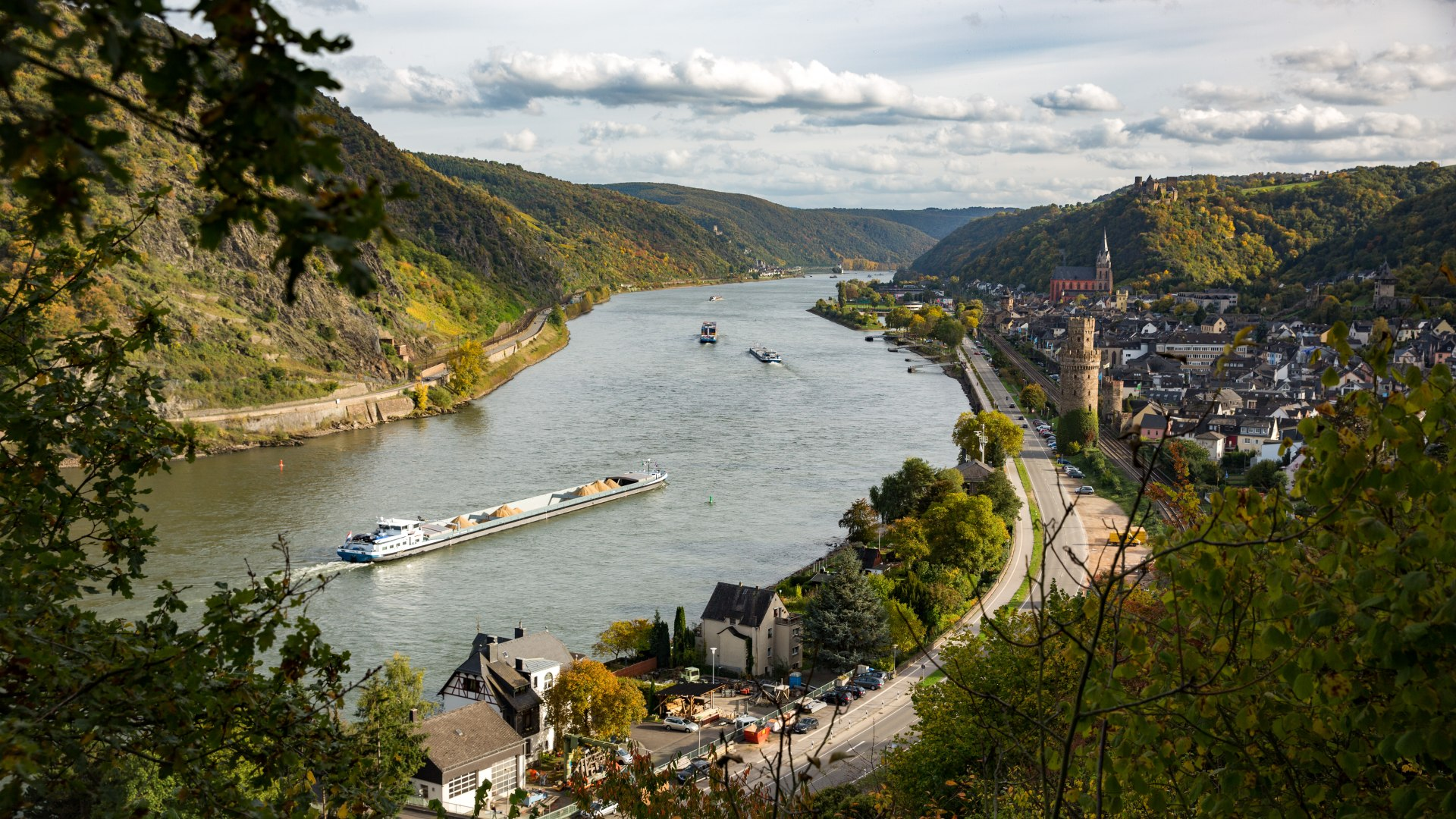 View of Oberwesel | © Henry Tornow