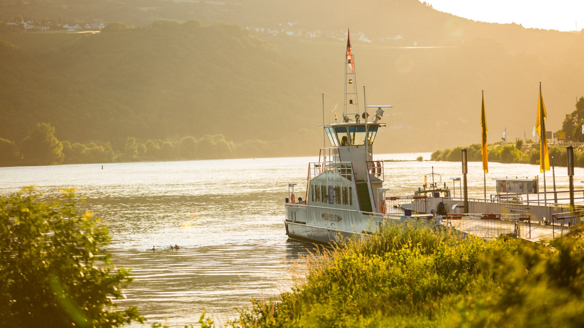 Rhine Ferry at Lorch | © Henry Tornow