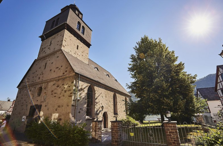 Alte Kirche Spay   © Marco Rothbrust