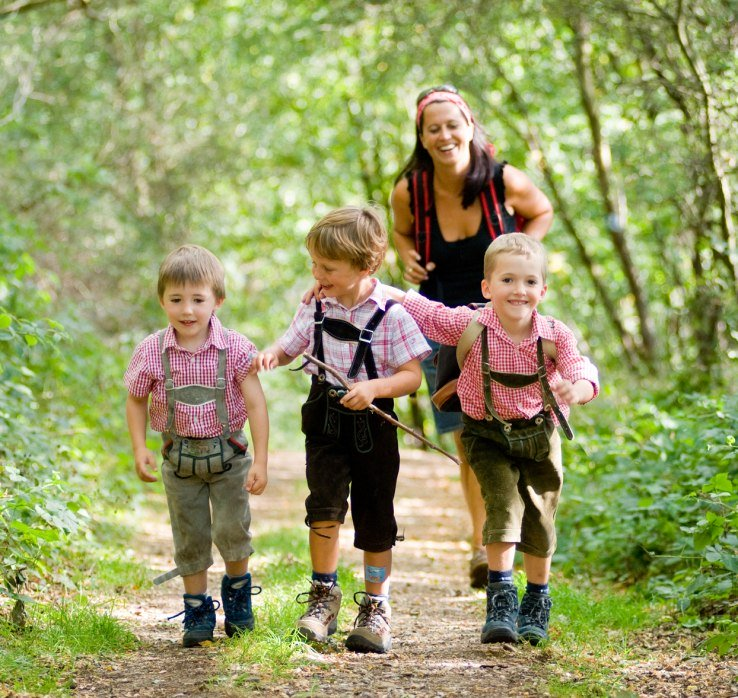 Hiking with children | © Dominik Ketz / Rheinland-Pfalz Tourismus GmbH