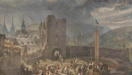 Bopparder Stadtmauer | © Yale Center for British Art, Paul Mellon Collectio